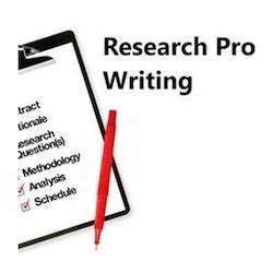A research proposal would not include
